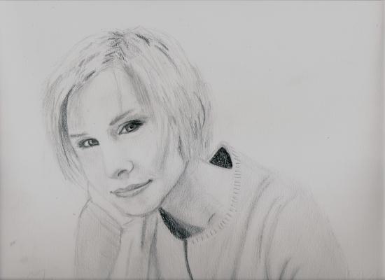 Kristen Bell by Francesco
